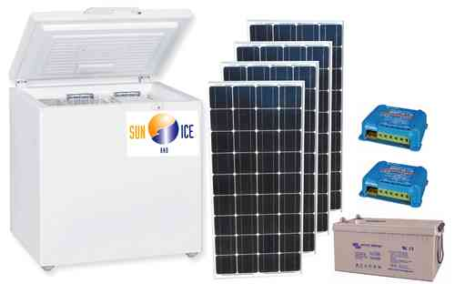 Solar cooling and deep-freeze system Sun Cool 3.0